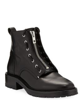 Rag & Bone Cannon Leather Combat Boots by Rag & Bone