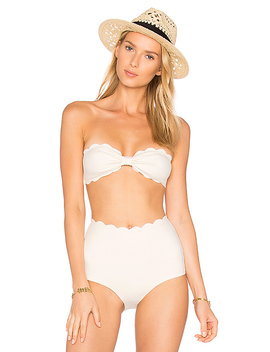 Antibes Bikini Top In Coconut by Marysia Swim