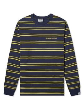 Billionaire Boys Club Long Sleeve Stripe Knit Tee by Billionaire Boys Club