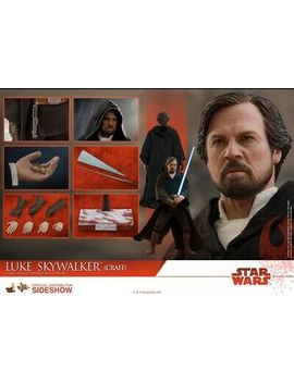Hot Toys Mms507 Star Wars Last Jedi Luke Skywalker (Crait) 1/6 Figure In Stock by Hot Toys