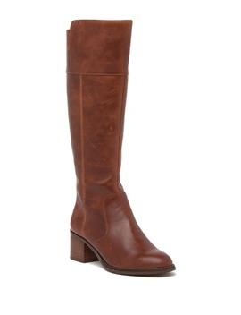 Luciana Block Heel Tall Boot by Franco Sarto