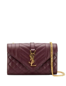 Lille Kuvertformet Crossbody Taske by Saint Laurent