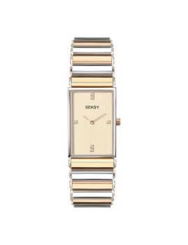 Seksy By Sekonda Ladies Two Tone Bracelet Watch729/5289 by Argos