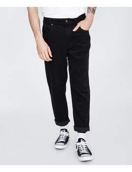 Switch Cord Pant Black by Au