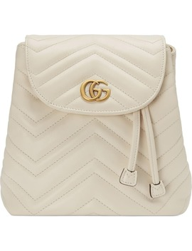 Gg Marmont 2.0 Matelassé Leather Mini Backpack by Gucci