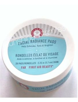 Fab First Aid Beauty Facial Radiance Pads Lactic & Glycolic Acid Treatment by First Aid Beauty