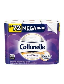 Cottonelle Ultra Comfort Care Toilet Paper   18 Mega Rolls by Cottonelle