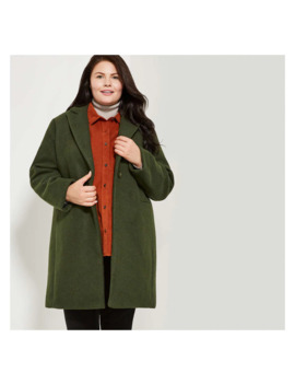 Women+ Single Button Coat by Joe Fresh
