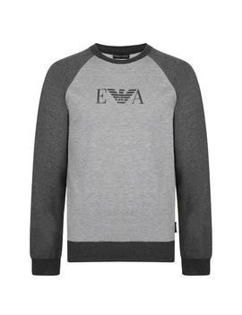 Two Tone Sweatshirt by Emporio Armani Underwear