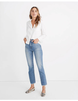 The Petite Perfect Vintage Jean In Ainsworth Wash by Madewell