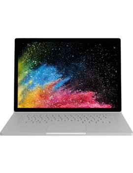 "Surface Book 2 2 In 1 15"" Touch Screen Laptop   Intel Core I5   16 Gb Memory   256 Gb Solid State Drive   Silver by Microsoft"