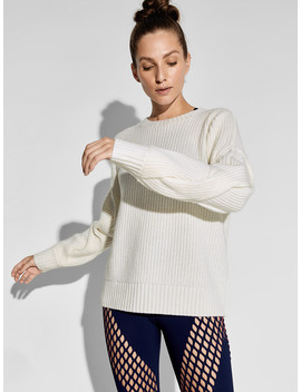Braided Cashmere Sweater by Dion Lee X Carbon38