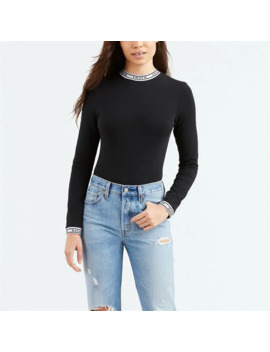 Long Sleeve Taping Bodysuit by Levis