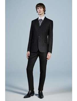 Metallic Stripe Suit Jacket by Zara