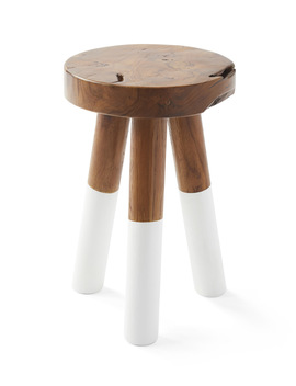 Dip Dyed Stools  Ch368 02 by Serena And Lily