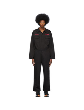 Black Nail Boiler Jumpsuit by Polythene* Optics