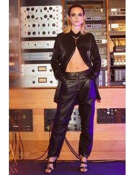Cara Delevingne Get Together Leather Pants by Nasty Gal