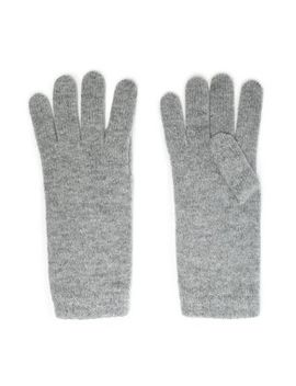 Mélange Cashmere Gloves by Johnstons Of Elgin