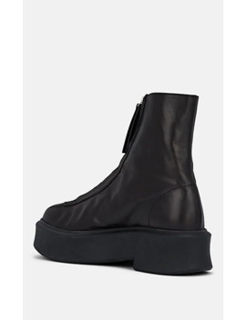 Leather Zip Boots by The Row