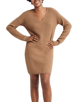 Relaxed Long Sleeve Sweater Dress by Madewell