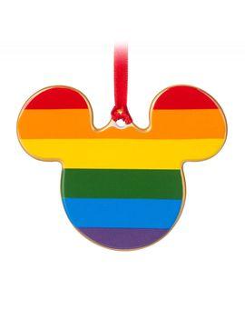 Rainbow Disney Collection Mickey Mouse Ceramic Ornament | Shop Disney by Disney