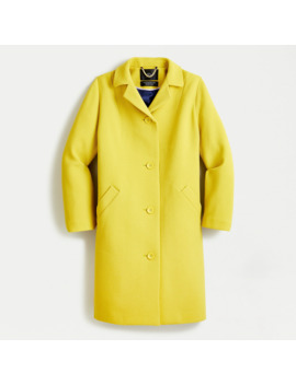 Car Coat In Italian Double Cloth Wool by J.Crew