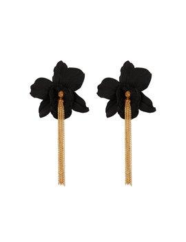 Orchid Chain Drop Earrings Orchid Chain Drop Earrings by Mallarino Mallarino
