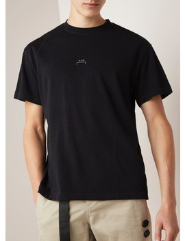 Core Flat Overlock T Shirt Met Patch by A Cold Wall
