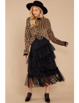 Fierce Femme Cheetah Print Sweater by Moodie