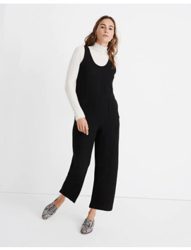 Patch Pocket Sweater Jumpsuit by Madewell
