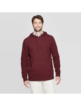 Men's Standard Fit French Terry Pull Over Hoodie   Goodfellow & Co™ by Goodfellow & Co