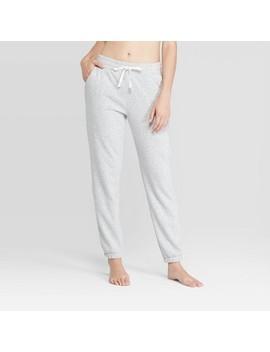 Women's Cozy Fleece Jogger   Colsie™ Gray by Colsie