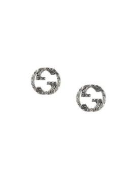 Interlocking G örhängen I Silver by Gucci