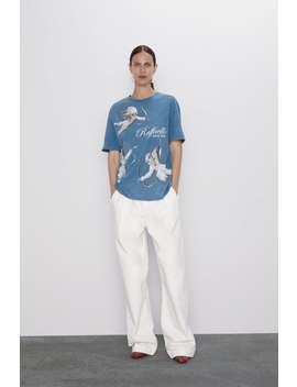 The Triumph Of Galatea Print T Shirt by Zara
