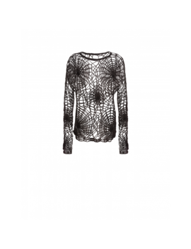 Spider Webs Pullover by Moschino