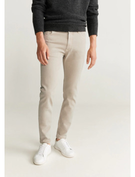 Jeans Skinny Color by Mango