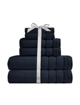 Scott Living Ultra Soft Egyptian Cotton 6 Piece Bath Towel Set by Scott Living