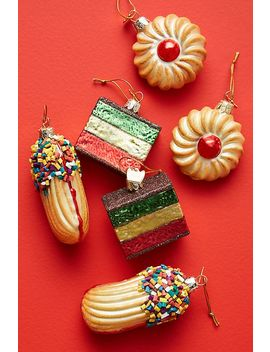 Italian Cookie Ornaments, Set Of 6 by Anthropologie