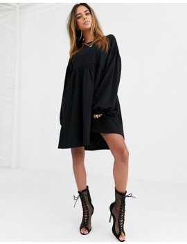 Asos Design Oversize Smock Mini Dress by Asos Design
