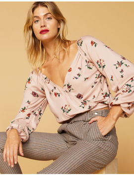 West Of Melrose You Had Me At Floral Womens Top by West Of Melrose