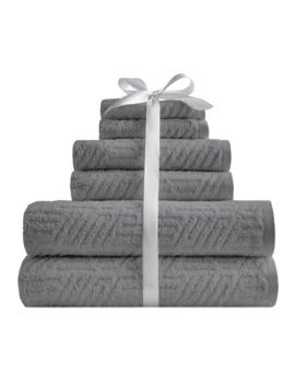 Scott Living Empire Egyptian Cotton 6 Piece Bath Towel Set by Scott Living