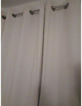 Eyelet Blackout/Therm<Wbr>Al Cotton Curtains 168 W X 229 D by Ebay Seller