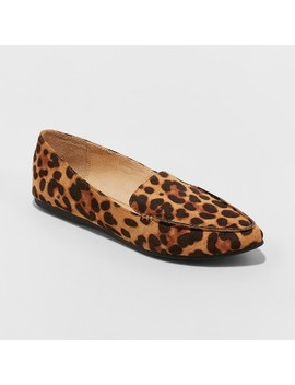 Women's Micah Pointy Toe Loafers   A New Day™ by A New Day