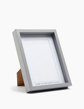 Home Is Our Happy Place Photo Frame 10 X 15cm (4 X 6inch) by Marks & Spencer