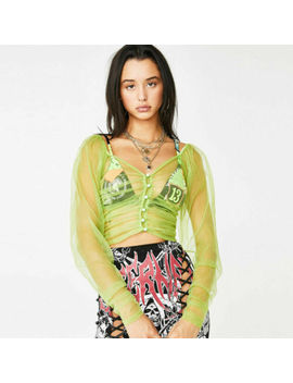 Uk Women Ladies Long Sleeve Top Casual See Through Mesh T Shirt Blouse Jumpsuit by Ebay Seller
