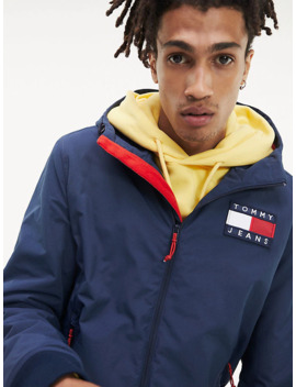 Padded Zip Thru Jacket by Tommy Jeans