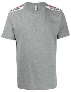 Logo Appliqué T Shirt by Moschino