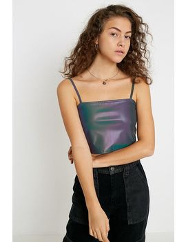 Uo Reflective Cami by Urban Outfitters