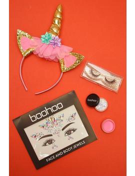 Unicorn Halloween Get The Look Kit by Boohoo