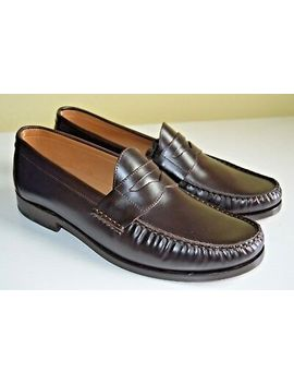 Jack Erwin Charlie Penny Loafers Brown Size Us 8 D Made In Spain by Ebay Seller